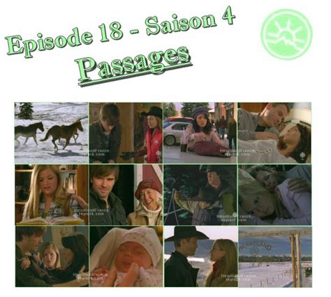 """Episode 18  Saison 4  Passages  """"home Is Where The"""
