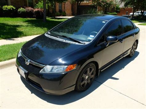 Purchase Used 2008 Honda Civic Lx Sedan 4-door 1.8l