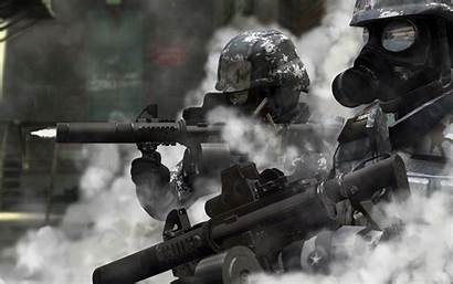 Gas Soldier Soldiers Guns Wallpapers Masks Wallpaperup