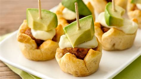 chipotle meatball appetizers recipe from pillsbury com