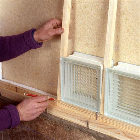 assembler des briques de verre maisonbrico