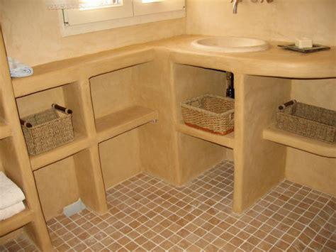 cuisine terre cuite atelier olivier billon tadelakt meuble