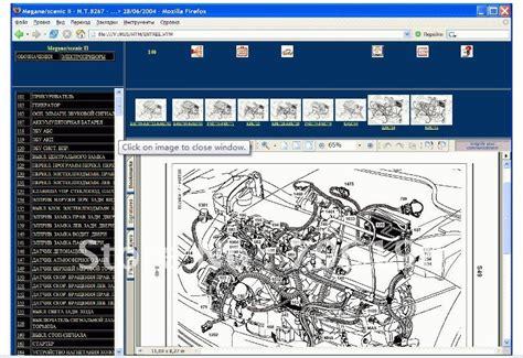 Renault Wiring Diagrams Megane Scenic