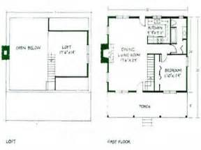 Simple Ranch Floor Plans With Loft Placement by Simple Small House Floor Plans Small Cabin Floor Plans