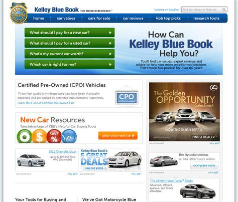 kelley blue book services  car values tjs daily