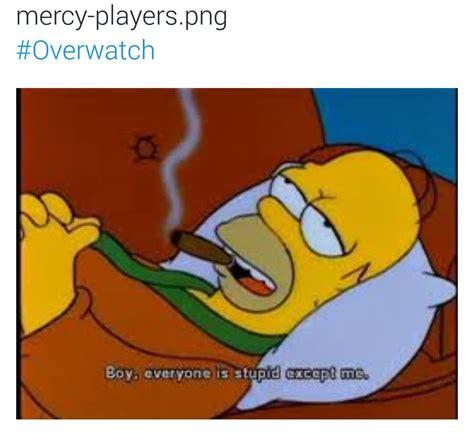 Mercy Meme - mercy players overwatch know your meme