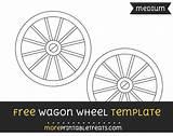 Wagon Template Wheel Medium Templates Printables Shapes Wheels Moreprintabletreats Western Craft Print Sponsored Links sketch template