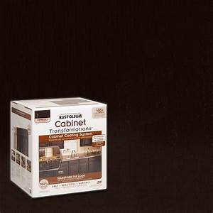 rust oleum transformations 1 qt java brown cabinet With what kind of paint to use on kitchen cabinets for retro candle holders