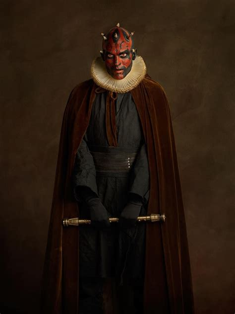 renaissance heroes  villains cosplay shoot darth maul