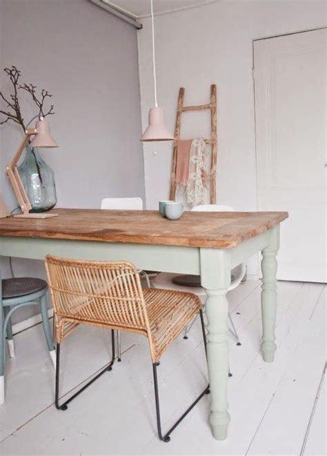 peinture table cuisine idee peinture cuisine meuble blanc dessus de table repoli