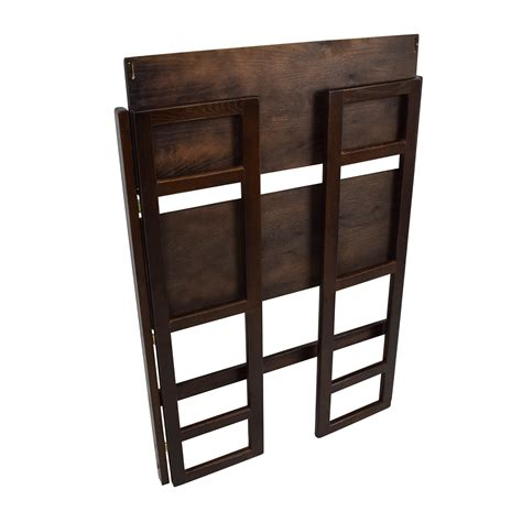 container store folding bookcase 56 off container store container store folding