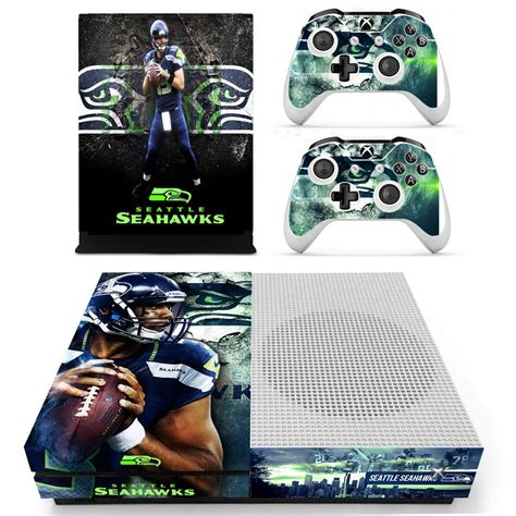 seattle seahawks skin decal  xbox   console