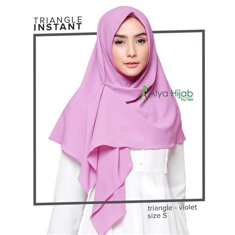 jilbab instant segitiga hijab instan  bisa