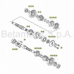 Beta Rr 125 Lc Ersatzteile : beta 125 lc 17 getriebe im motocross enduro shop mxc gmbh ~ Jslefanu.com Haus und Dekorationen