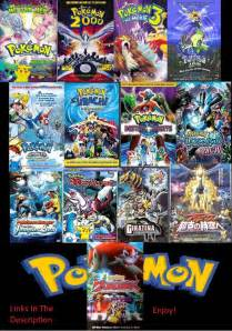 pokemon movies in order