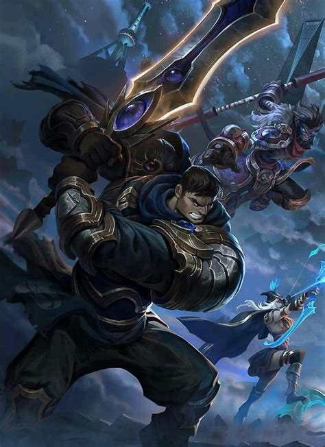garen hd wallpaper league  legends wallpaper