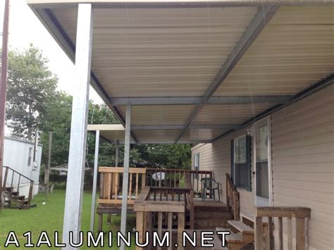 2 steel patio covers in baytown 187 a 1