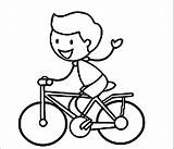 Coloring Bike Riding Pages Bicycle Boy Cycling Stick Figure Rider Helmet Coloringhome Colorings Clip Wecoloringpage Biycle Spirit Getcolorings Getdrawings Printable sketch template