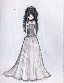 Anime Dresses Drawing Sketches