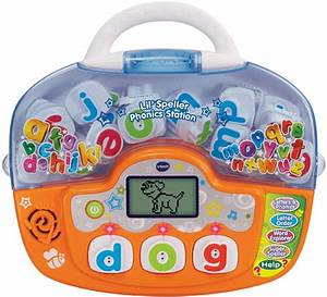 vtech lil speller phonics stationtm toys games With vtech numbers and letters