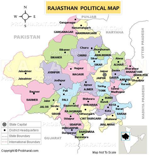 rajasthanrajasthan mapmap  rajasthan india