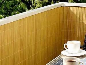 Bambus Für Balkon : balkonverkleidung sichtschutz bambus aus kunststoffmatten ~ Eleganceandgraceweddings.com Haus und Dekorationen