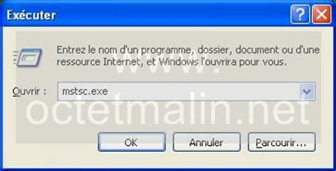 activer bureau a distance windows 7 windows xp bureau à distance connexion
