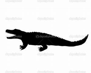 Alligator Head Silhouette | www.imgkid.com - The Image Kid ...