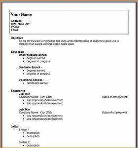 College student resume template microsoft word best for College application resume template microsoft word