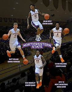 2015-16 Northwestern State Men's Basketball Media Guide by ...