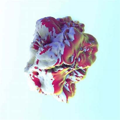 Aesthetic Gifs Shapes Animated Trippy 3d Artists