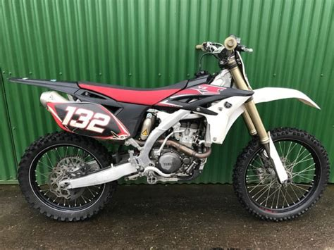 2012 Yamaha Yz250f 4 Stroke Motocross Bike For Sale In