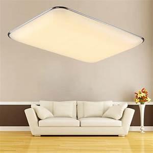 Deckenlampe Led Küche : 48w led deckenlampe deckenleuchte warmwei wohnzimmer k che b ro wandlampe ip44 ebay ~ Whattoseeinmadrid.com Haus und Dekorationen