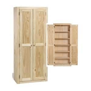 amazon com solid wood large unfinished kitchen pantry