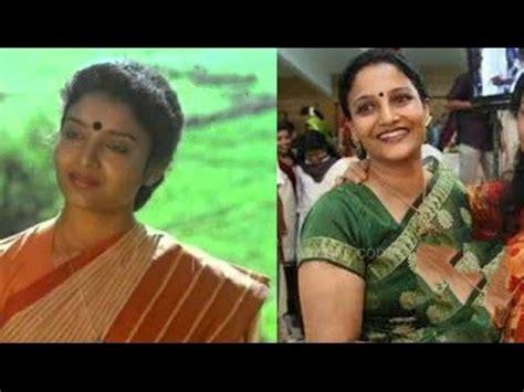 old malayalam actress karthika family karthika