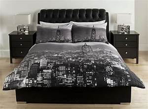 new york photographic skyline duvet cover from fascobedding on With bed linens nyc