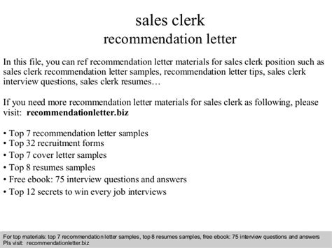 file clerk cover letter sles sales clerk recommendation letter