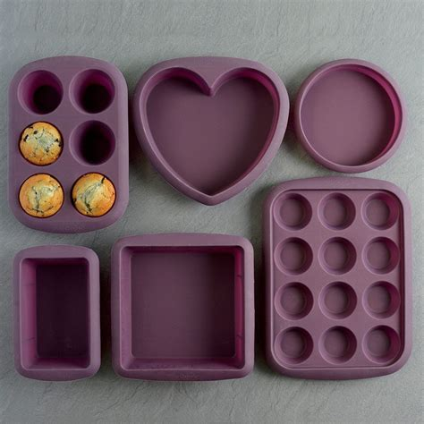 silicone bakeware moulds procook silicon kitchen giveaway utensils purple rrp fussfreeflavours gadgets cake bring range tray