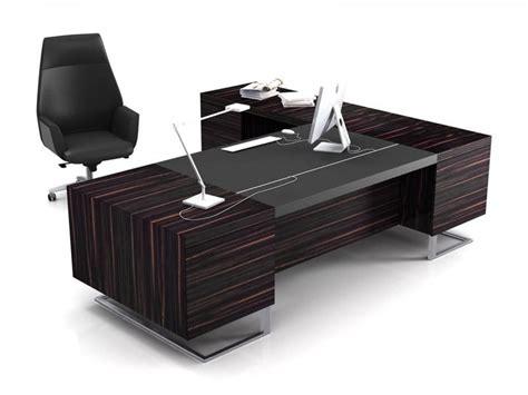 glass executive desk office furniture modern executive office design 4 elegant black