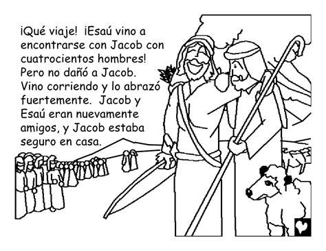 Jacob Esau Coloring Pages - Democraciaejustica