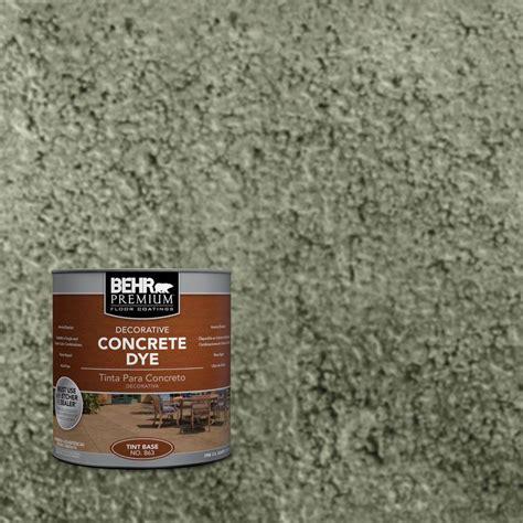 behr premium concrete stain exterior stain