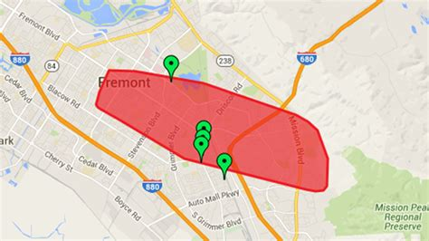 power restored  outage affects    pge