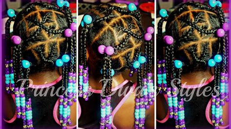 quick  simple cute  girls natural hair