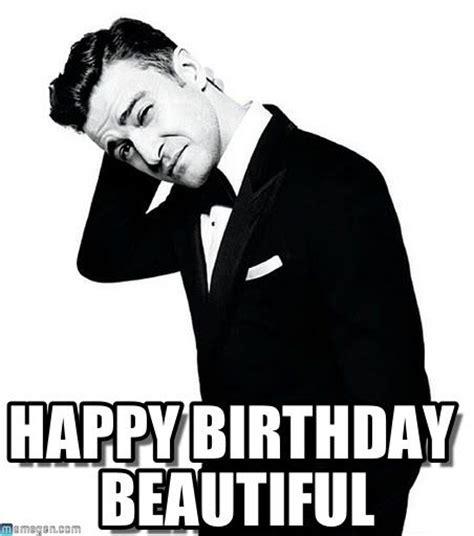 Justin Timberlake Meme - 102 best happy birthday meme images on pinterest birthdays happy birthday greetings and