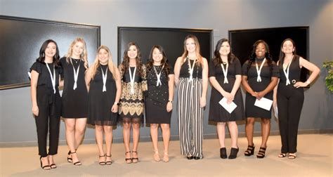 dental hygiene graduates honored  pinning ceremony