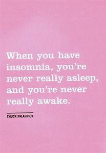 Quotes About Insomnia Sleeping. QuotesGram