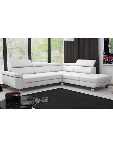 transport canapé canapé d 39 angle kate blanc