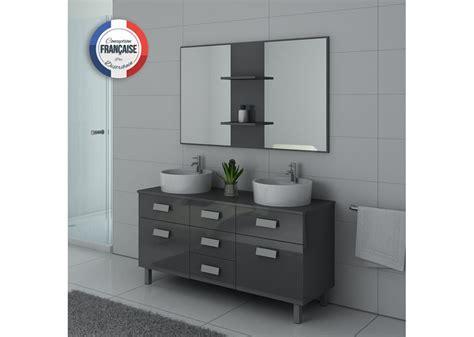 meuble de salle de bain vasque gris dis911gt salledebain