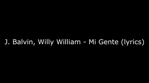 J Balvin Ft Wlli William & Beyonce Remix (letra