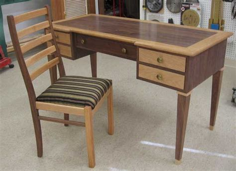 wood desk chair plans easy diy woodworking plans